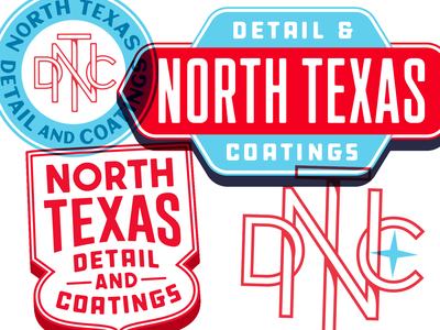 NTDC Badges texas monogram sheild badge logotype logo