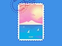 Napoli Stamp