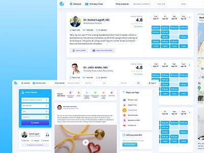 Medical Dashboard app ui app ux ux ui dashboard