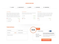 PSD to WordPress (Order Review)