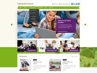 Highschool Website Concept