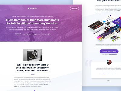 Portfolio Website Redesign redesign website portfolio