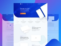 Free Website Template for App Presentation