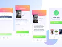 Book App UI WIP 2