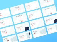 Landing Page Wireframe Kit WIP