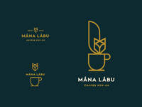 Coffee pop-up logo