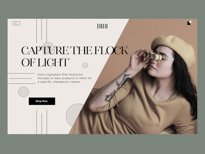 Clothing Store Web shopify uiux ux ui marketing homepage landing page online store typography women fashion clothing website clothing brand cloth wear ecommerce fashion design