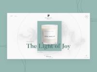 Beautiful India Concept Luxury Web Design