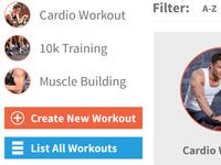 Workout Widgets