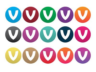 Colour Ideas logomark colours graidents v comparison