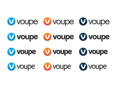Colour Type Ideas logomark colours graidents v comparison typeface voupe