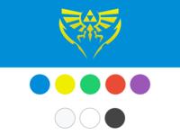 Zelda Timeline Colour Palette
