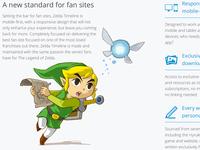 Zelda Timeline Homepage