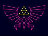 Neon Zelda