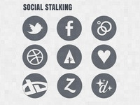 New Website Social Icons
