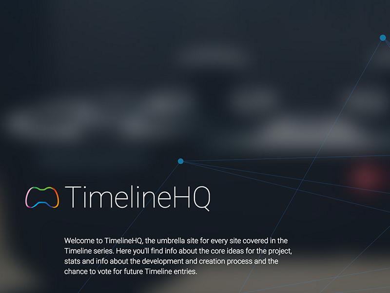TimelineHQ Teaser umbrella teaser image text logo design web
