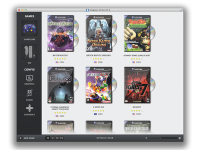 Dolphin II mac osx ui app dolphin games icons