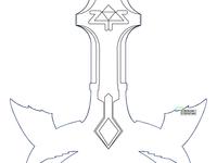 Master Sword Vector