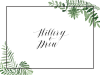 Hillery & Drew Wedding Site