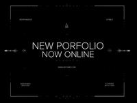 New personnal portfolio