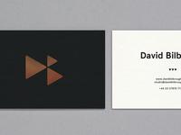 David Bilbrough Letterpress Cards