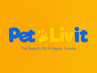 PetLivit Logo pet care logotype logo