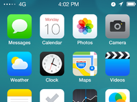 Redesign ios7 screen
