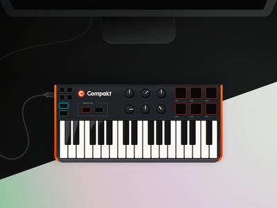 MIDI Keyboard keyboard drum pad piano controller midi