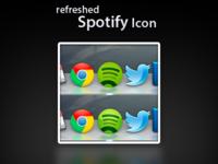 Comparison spotify icon leod