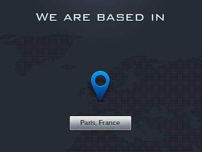 Sneak Peek n°1 - Pixelicious - WIP design ui ux map icon wip sneak peek blue web typography clean icons