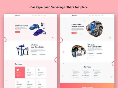 Meramot - Car Repair and Servicing HTML Template