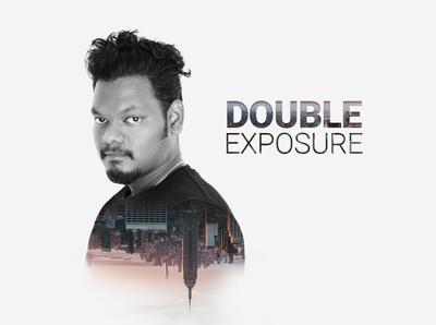 double exposure graphics