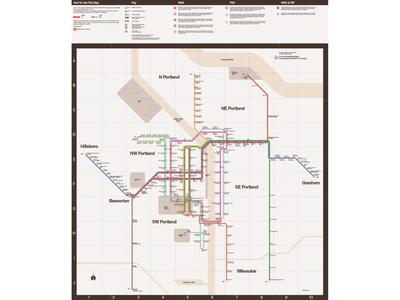 TriMet System Map Reimagining