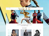 Vogue - Homepage