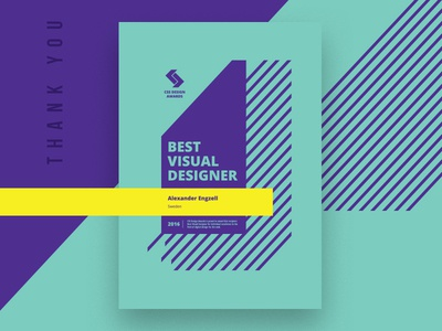 Visual Designer of The Year. engzell css design awards cssda visual design designer of the year award