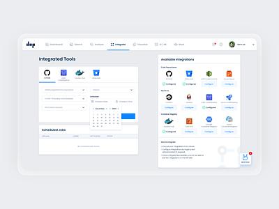Website App Design | DOP, Inc dashboard design uidesign web app icon logo vector ux ai design branding ui dashboad