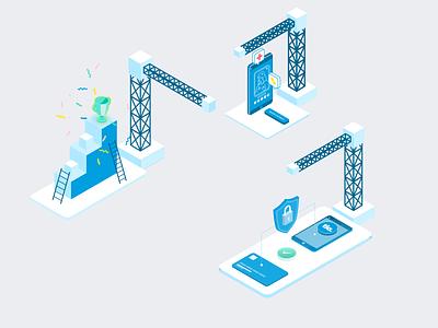 Website Design | Tia Health, Inc web design application wenatchee webdesign web identity design design branding animation ai ux uiux ui blue isometric illustration
