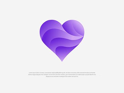 Modern Love Logo   Heart Logo love logo vector modern logo lettering modern logo design trends modern logo templates modern logo maker