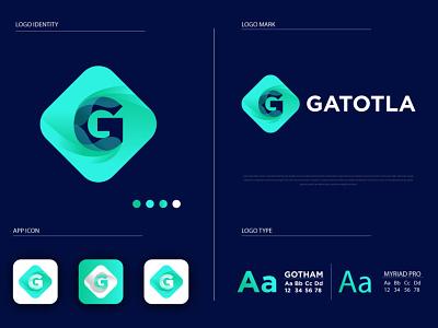 Modern G Logo g letter logo g logo vector g logo logo design gradient logo flat logos flat logo design flat logo modern logo design modern logo