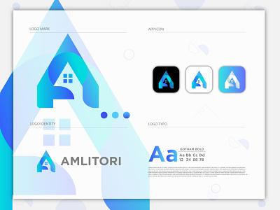 A logo a letter logo brand identity logo and branding a logo vector a logo logo design flat logo abstract logo gradient logo modern logo