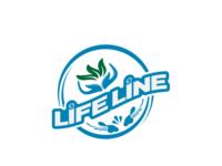 Life line logo design branding logo. financial logo. unique logo logo logotype icon app vector illustration concept logo design minimal typography letter logo lettermark