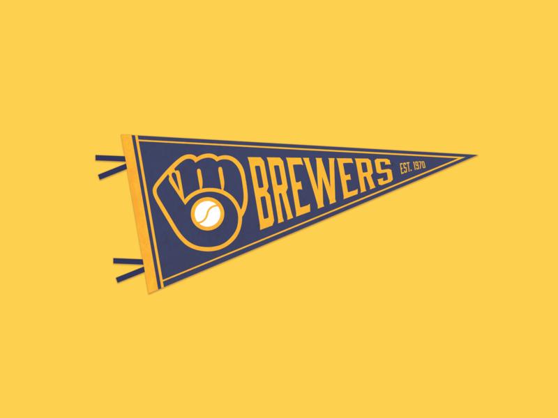 Milwaukee Brewers Pennant