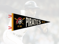Pittsburgh Pirates Pennant