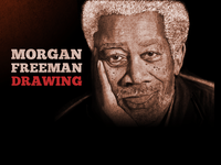 Morgan Freeman Drawing (WIP)