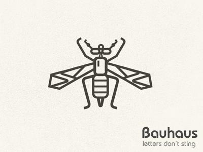 Bauhaus letters don t sting