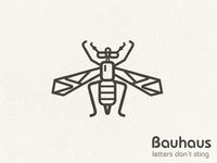 Bauhaus Letters Don't Sting