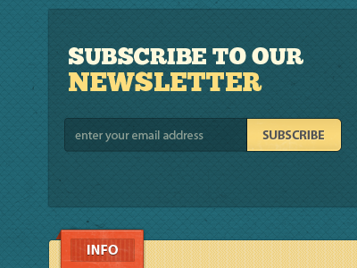Lab Theme Newsletter Form Element wordpress wp theme subscription forms