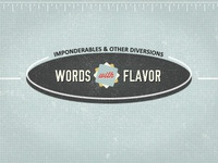 Words with Flavor (header)