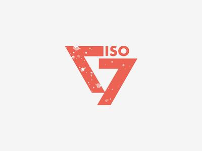iso77 Logo V2 typeface elegant simple clean typography bauhaus branding logo