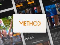Method Website UI WCAG 2.0 Compliant (tablet version)